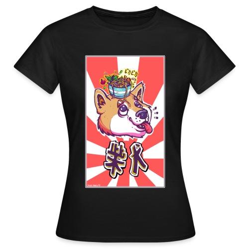 Shiba soleil levant - T-shirt Femme