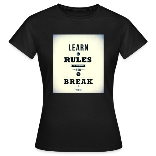RULES - Vrouwen T-shirt