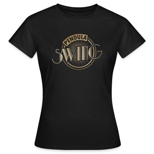 Pendula Swing Logo Gold - Women's T-Shirt