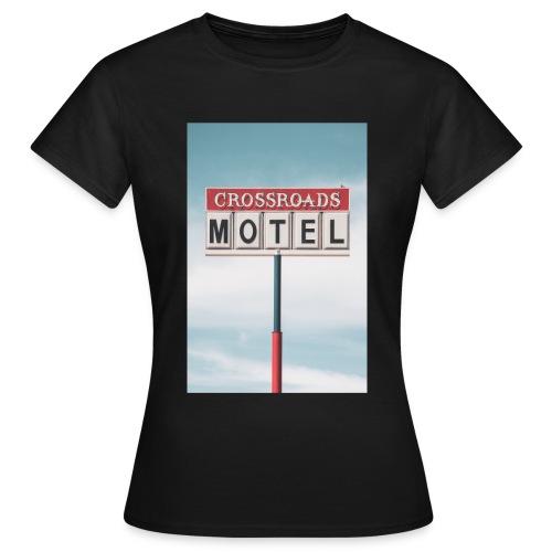 Crossroads Motel - Frauen T-Shirt