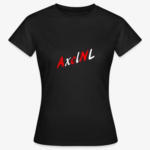 AxelNL - ROOD - Vrouwen T-shirt