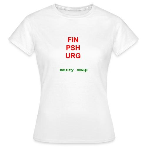 Merry nmap - Women's T-Shirt