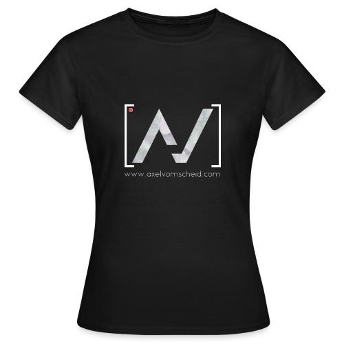 logoalpha blanc - T-shirt Femme
