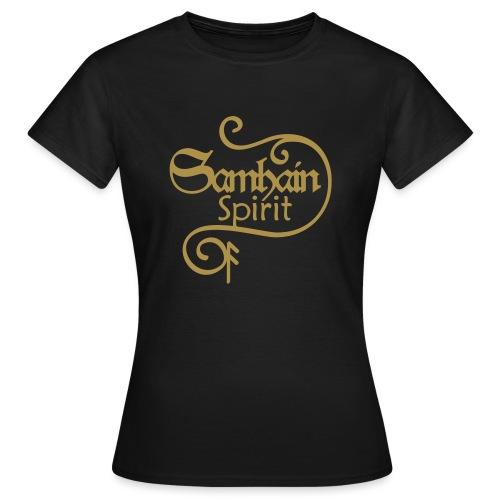 SAMHAIN SPIRIT mit Rune ANSUZ - Frauen T-Shirt