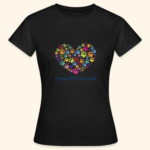 CUOREZAMPE - Maglietta da donna