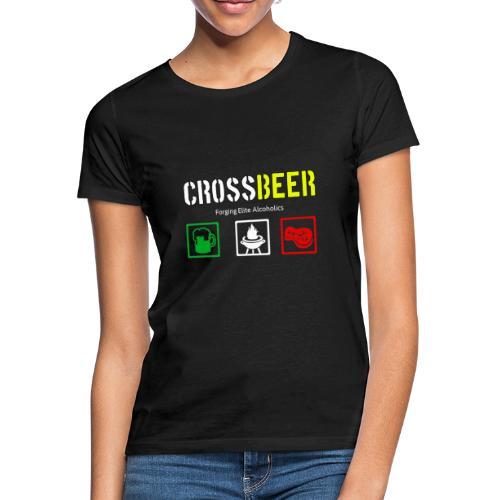 crossbeer - Maglietta da donna