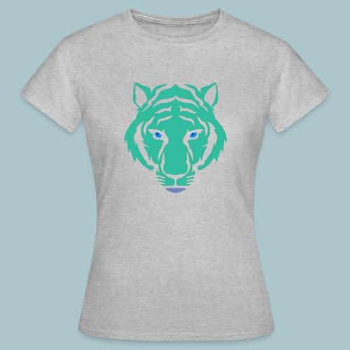 tijger blauw - Vrouwen T-shirt