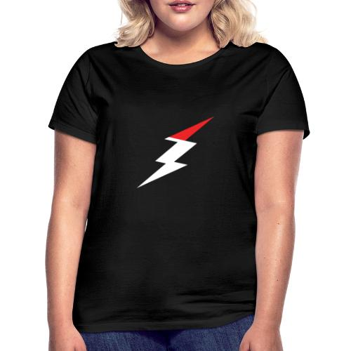 Electrified Blitz weiß/rot - Frauen T-Shirt