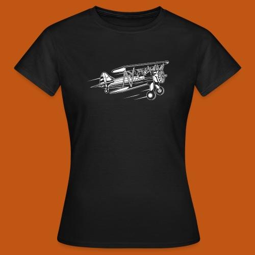 Flugzeug / Airplane 01_weiß - Frauen T-Shirt