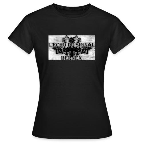 Logo Echo 2016 grunge 300 - T-shirt Femme