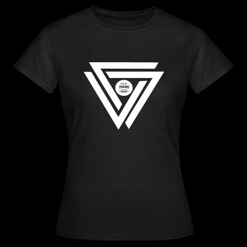 08 logo complet withe - T-shirt Femme