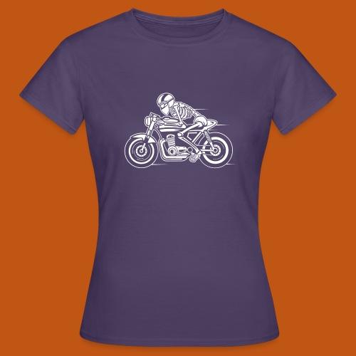 Cafe Racer Motorrad 05_weiß - Frauen T-Shirt