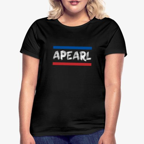 Blue red APearl - T-shirt Femme