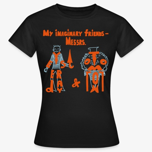 My imaginary friends T-shirt - Frauen T-Shirt