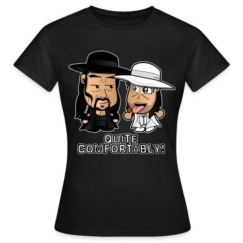 Chibi Light HBK and Dark Taker - Women's T-Shirt