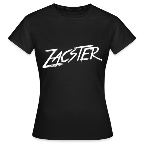 Zacster Apparel White Scratchy Design png - Women's T-Shirt