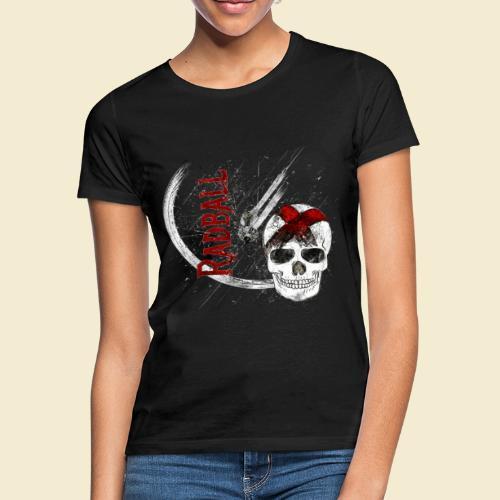 Radball | Cycle Ball Skull - Frauen T-Shirt