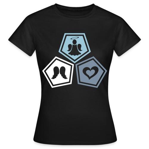 Tee shirt baseball Enfant Trio ange, ailes d'ange - Women's T-Shirt