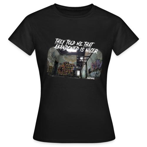 Ontwerp 1 goeie png - Vrouwen T-shirt