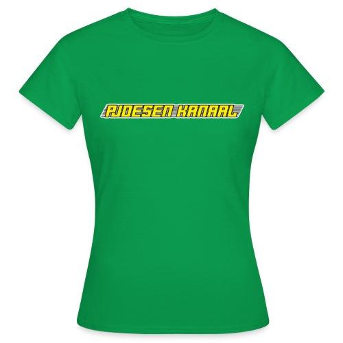Pjoesen Kanaal - Vrouwen T-shirt