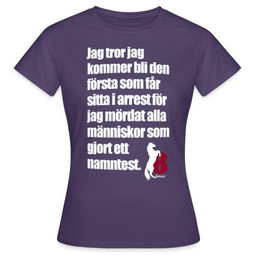 HorseBook line - T-shirt dam