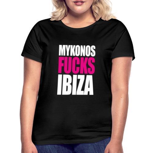 MYKONOS VS IBIZA - T-shirt Femme