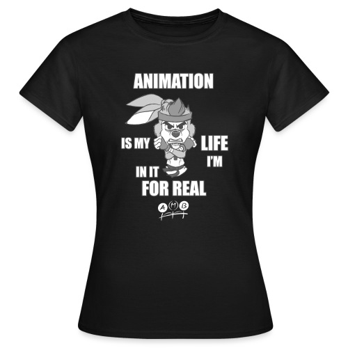 AMB Animation - In It For REAL - Women's T-Shirt