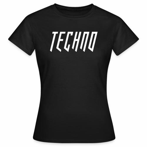 Techno_2019_V6 - Frauen T-Shirt