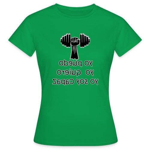 Para el Espejo: GYM - YO PUEDO - Camiseta mujer