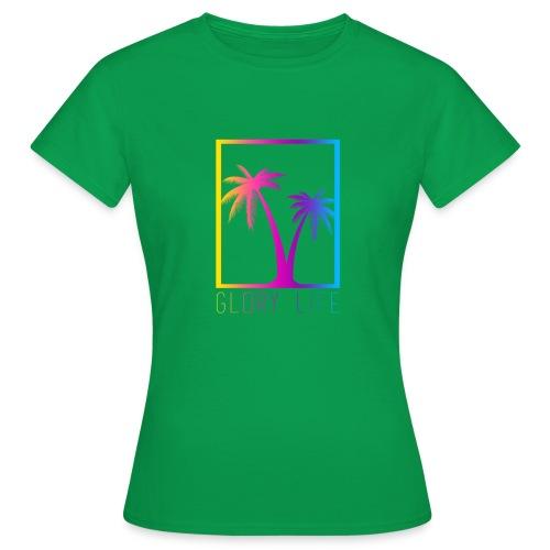 palmtreessummer png - T-shirt Femme