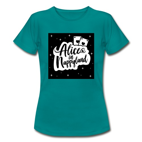 Alice in Nappyland 1 - Women's T-Shirt