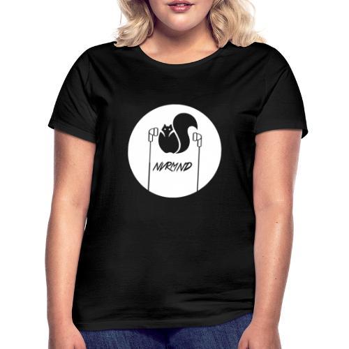 WHITE LOGO - Frauen T-Shirt