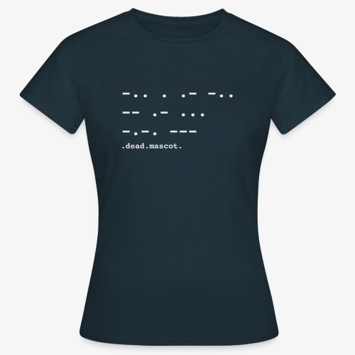 .dead.mascot. EP cover - T-shirt Femme