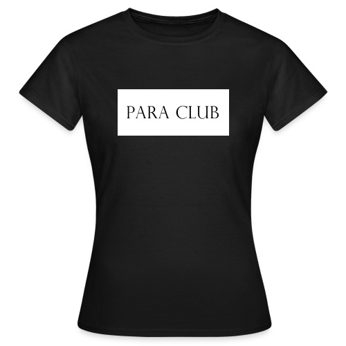 Para Club Box Logo - Frauen T-Shirt