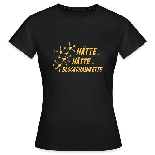 Blockchainkette - Frauen T-Shirt