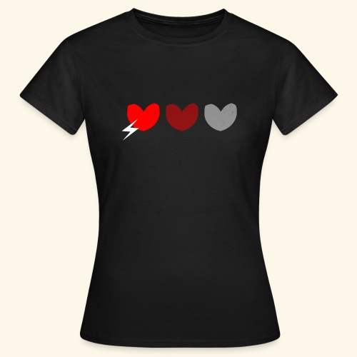 3hrts - Dame-T-shirt