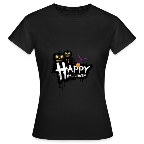happy halloween - Women's T-Shirt