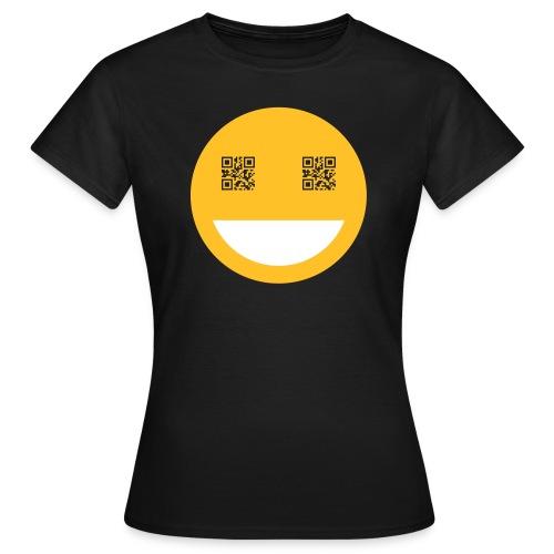 qr smile - Frauen T-Shirt