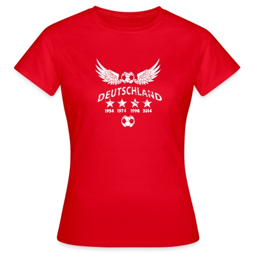 Germany football 2018 - Frauen T-Shirt
