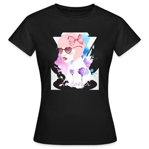 Le coeur - T-shirt Femme
