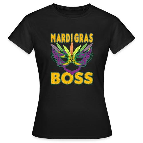 Funny Mardi Gras Boss Shirt Party Carnival gift - T-shirt Femme