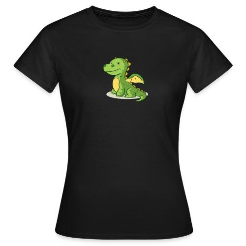 dragon funny - T-shirt Femme