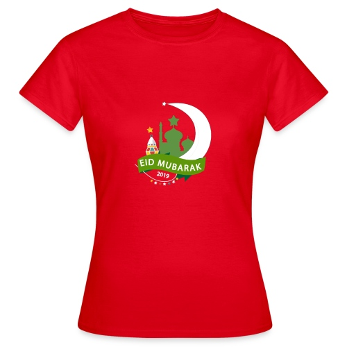 EID MUBARAK , AID SAID - T-shirt Femme