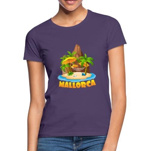 Mallorca - schau wie schön die Insel ist! - Frauen T-Shirt