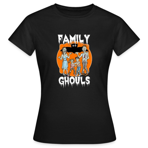 Zombie Family Ghouls Halloween Night Party - Women's T-Shirt