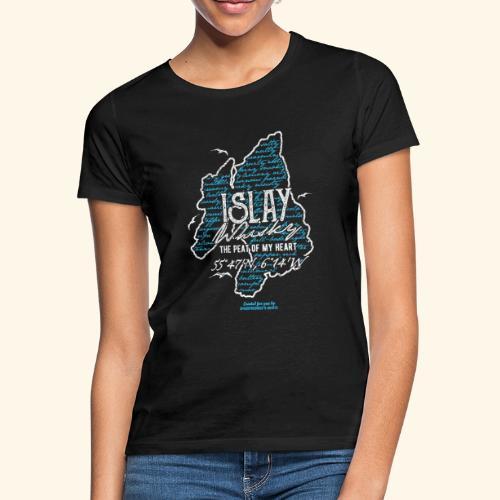 Tasting Notes Islay Whisky T Shirt Design - Frauen T-Shirt
