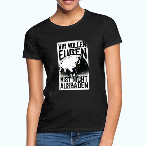 Klare Kante Zeigen - Fridays For Future - Women's T-Shirt