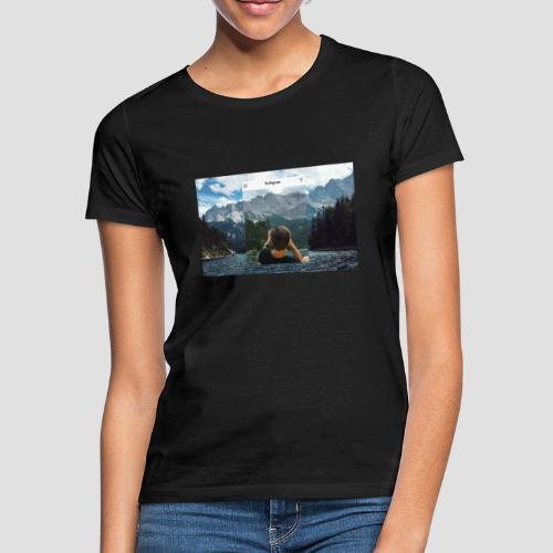 Reality vs. Instagram - Frauen T-Shirt