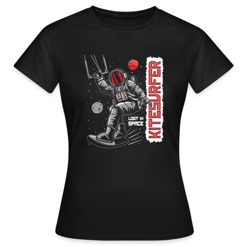 Kitesurfer - Lost in space - Frauen T-Shirt