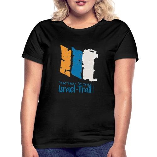 Israel National Trail Wegmarkierung, blau - Frauen T-Shirt